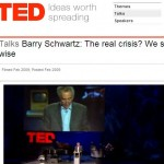 Barry Schwarz at TED talks
